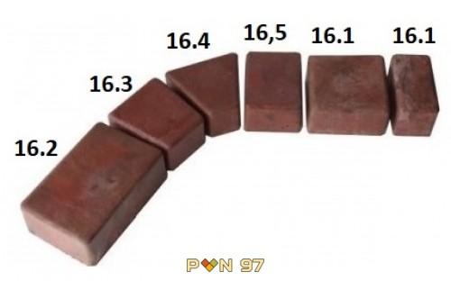 Римска настилка - комплект (5 части)