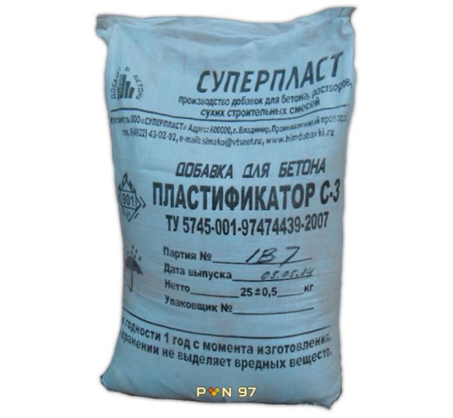 Пластификатор C3 (СП-1)