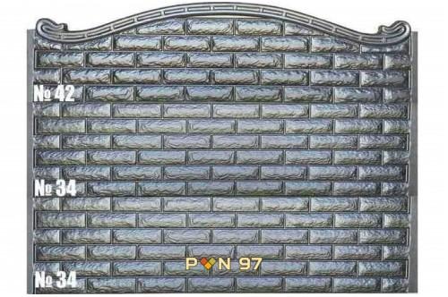 Пана за ограда 34, 42