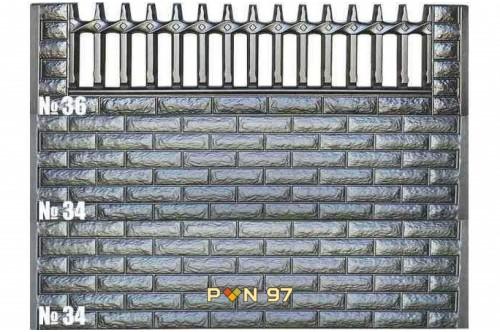 Пана за ограда 34, 36
