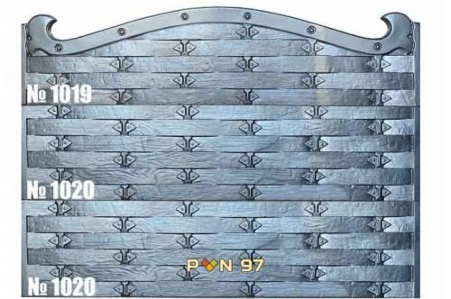 Пана за ограда 1019, 1020