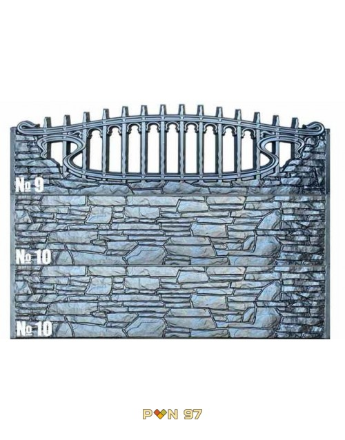 Пана за ограда 10, 9